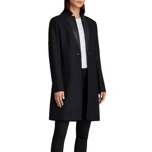 AllSaints Leni Navy/Black Coat